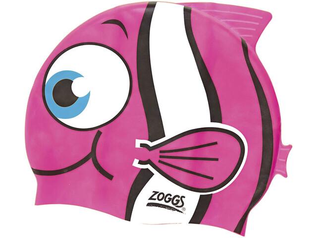 Zoggs Character Badehætte Børn pink/hvid